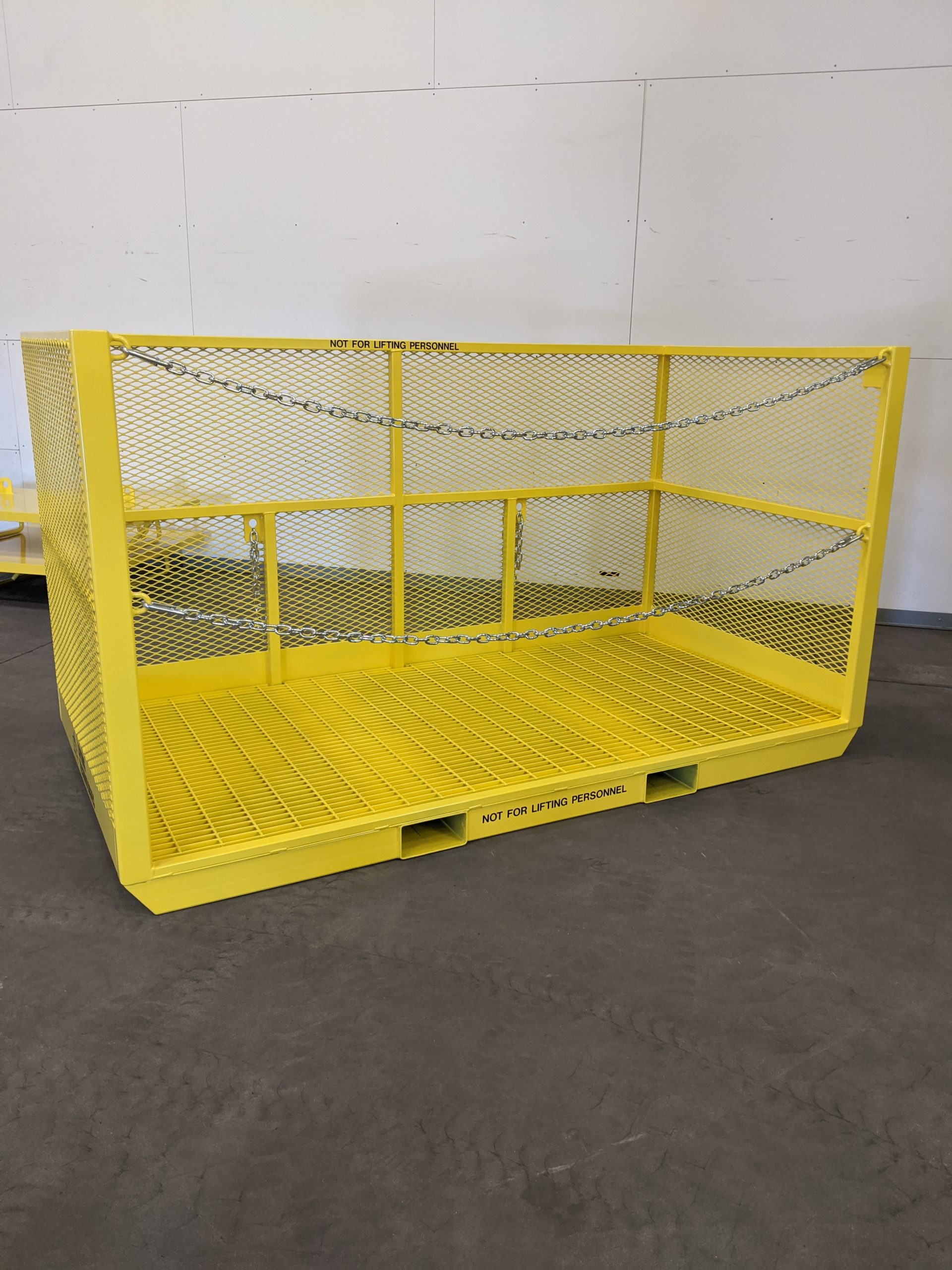 Custom Material Forklift Only Basket