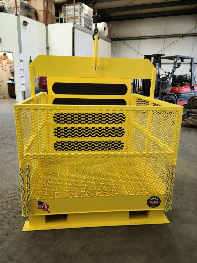 Custom Single Pick with Ramp for Forklift or Crane